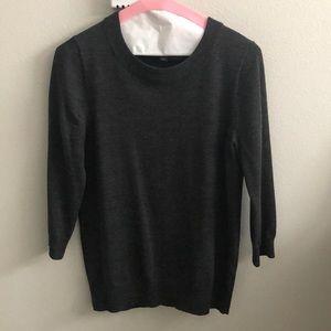 J.Crew heather grey Tippi sweater, Sz S